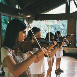 Muestra de alumnos de Violín