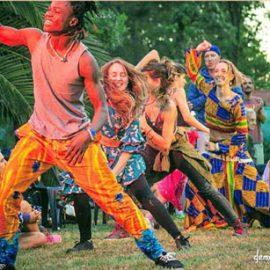 Danza africana moderna y tradicional