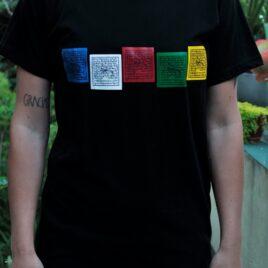 Remera Banderines Tibetanos