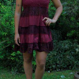 Vestido Corto Tejido