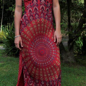 Vestido Mandala Largo